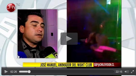 Mira la caída de Angie Alvarado bailando el caño en Night Club