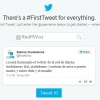 Revisa acá cuál fue tu primer tuit