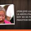 Indignación en redes sociales por llanto de abuelita Eliana en MasterChef