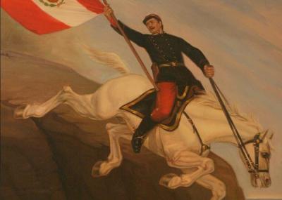 El Desconcertante Mito De Alfonso Ugarte Y Su Salto En Caballo Desde