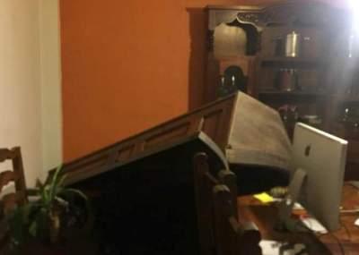 Así vivió el terremoto presentador de TV durante transmisión en vivo