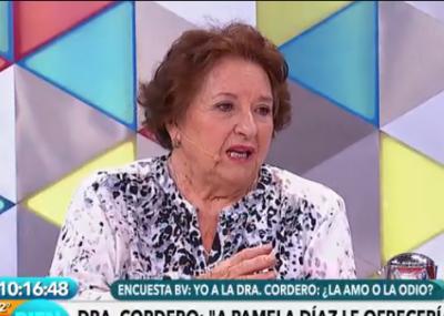 Doctora Cordero es despedida tras dichos sobre ex de Tea Time