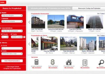 Propiedades casas en venta y venta departamentos el for Inmobiliaria del banco santander