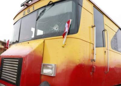 Liberan a sujeto acusado de apedrear tren peruano en Arica — Chile