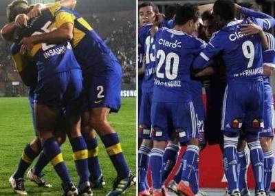 Ver online Boca Juniors vs Universidad de Chile en vivo online desde