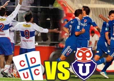 Ver partido Universidad Católica vs Universidad de Chile (online, en